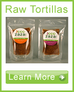 Learn more about Zaza Raw Tortillas