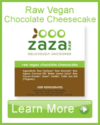 Learn more about Zaza Raw Vegan Chocolate Cheesecake